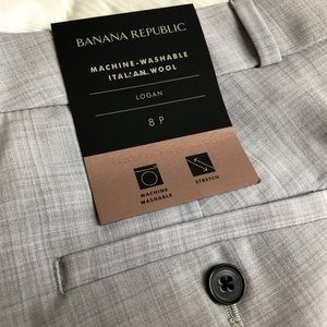 BANANE REPUBLIC NWT Logan Italian Wool